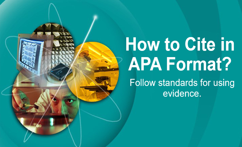 How to cite in APA format