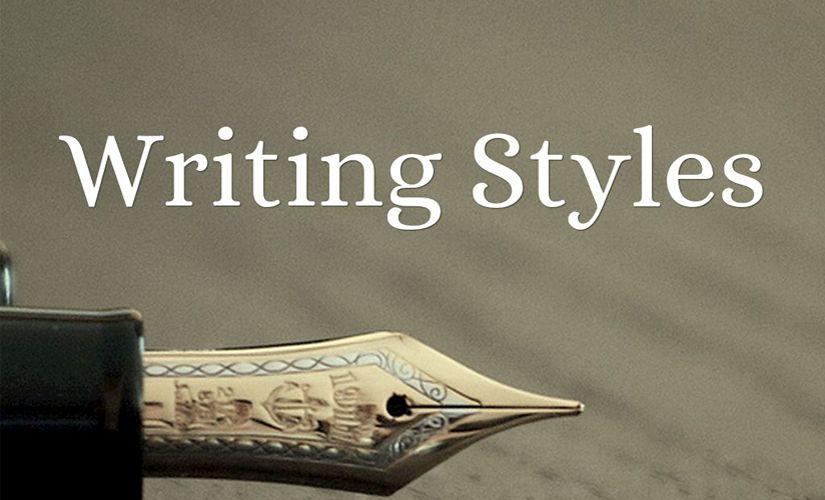 Writing Styles