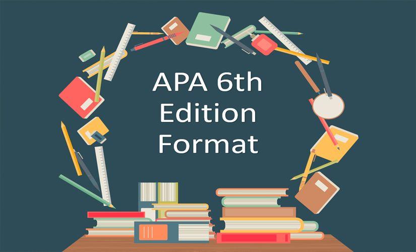 APA 6th edition format
