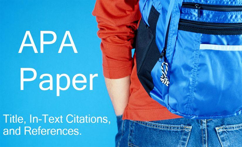 APA paper