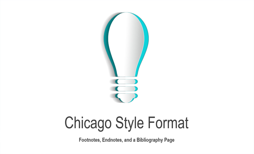 Chicago Style Format Footnotes Endnotes And A