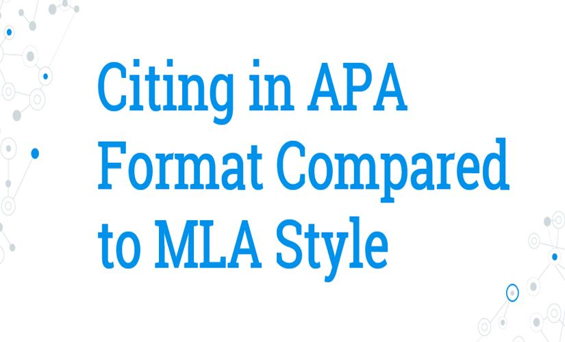 Citing in APA format