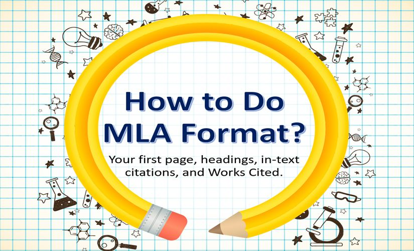 How to do MLA format