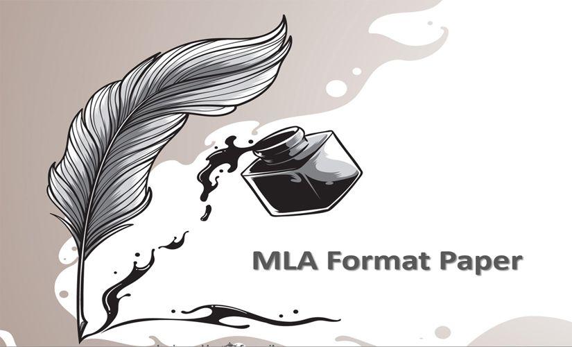 MLA format paper