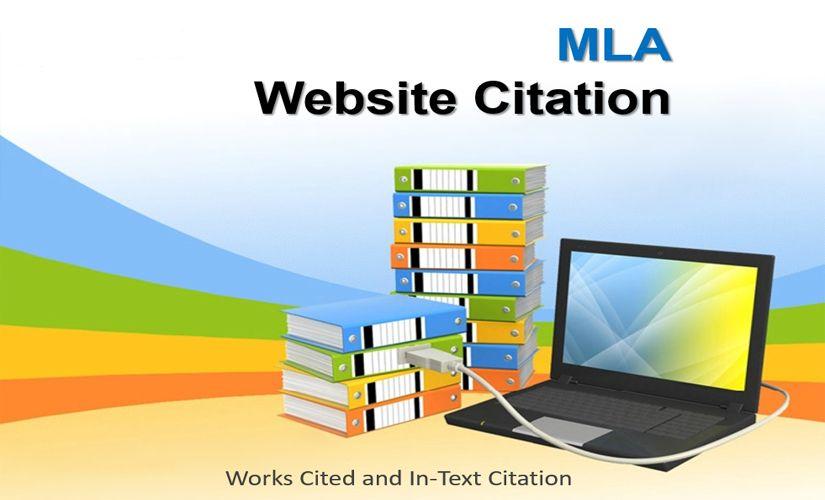 MLA website citation