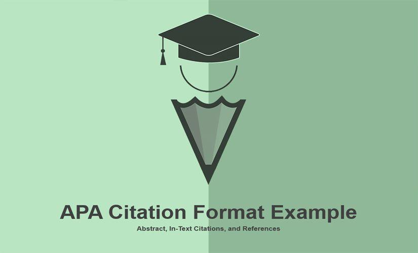 APA citation format example