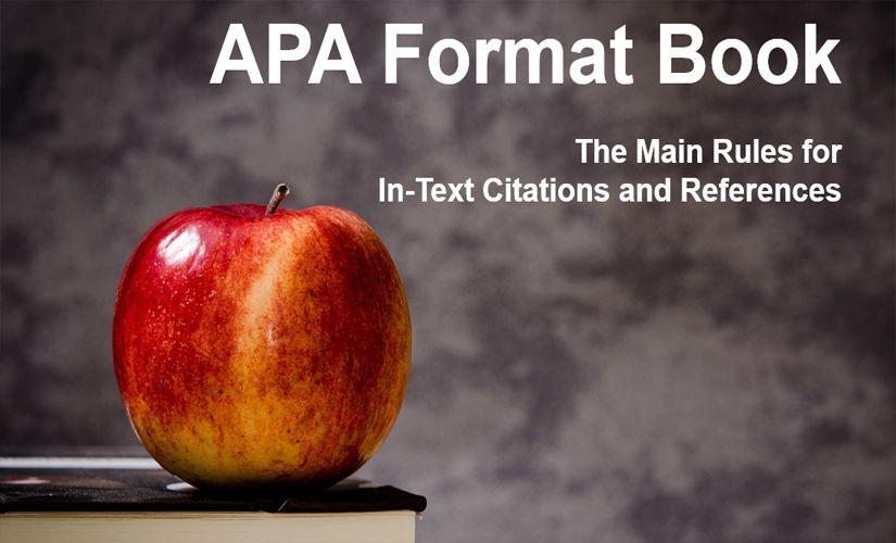 APA format book