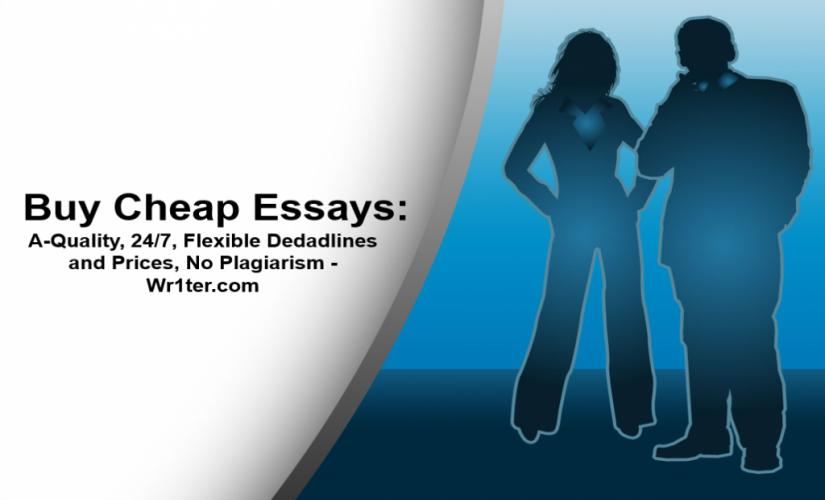 Buy cheap essays