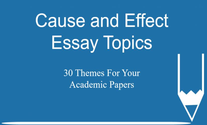Essay With Thesis Statement Example  College Essay Forum also Abraham Lincoln Essay Paper Cause And Effect Essay Topics  Themes For Your Academic  Literature Essays Examples