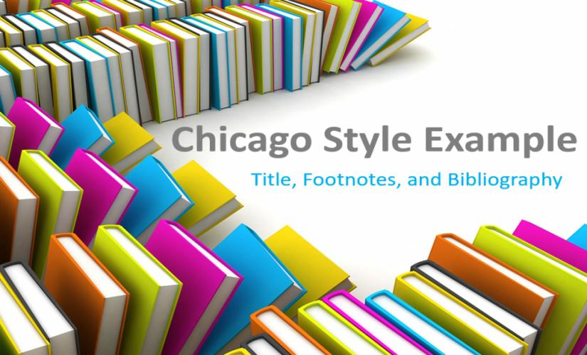 Chicago style example