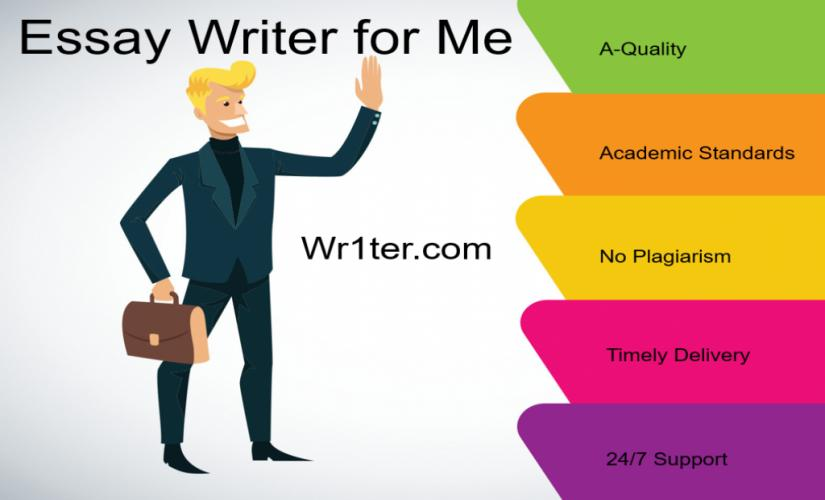 Essay writer for me