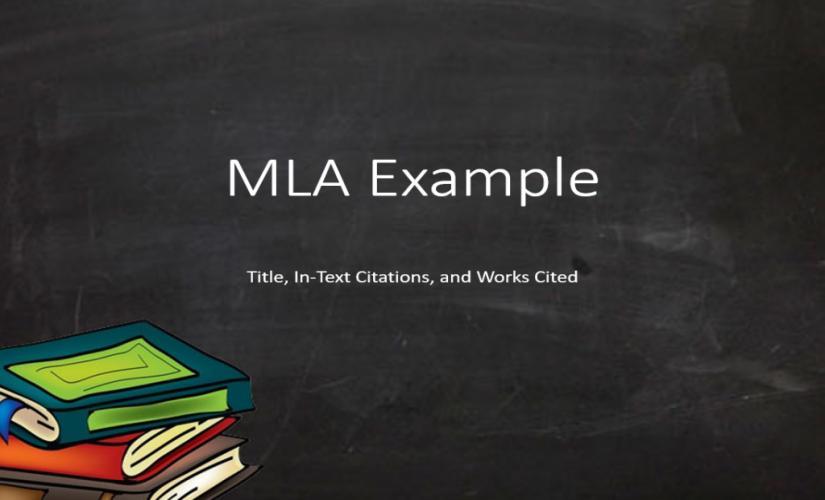 MLA example