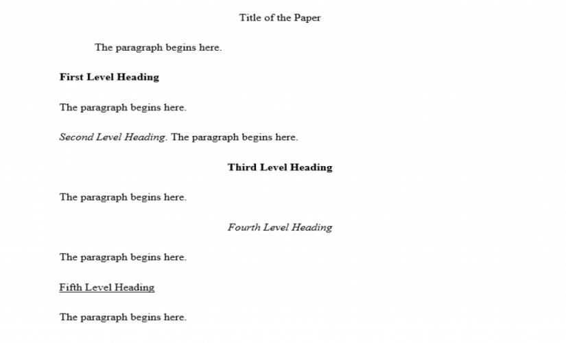 MLA format paper example