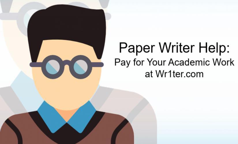Paper writer help