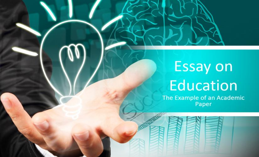 Essay on education