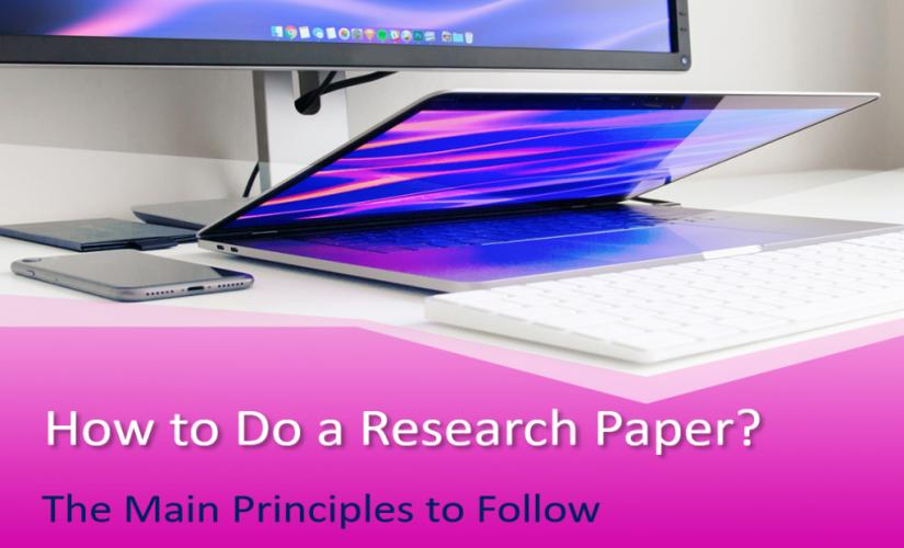 How to do a research paper