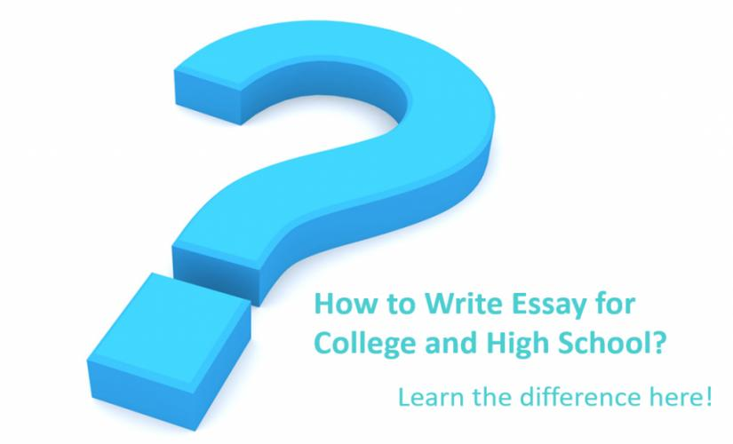How to write essay for college