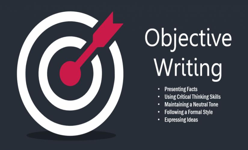 Objective writing