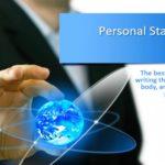 Personal statement college