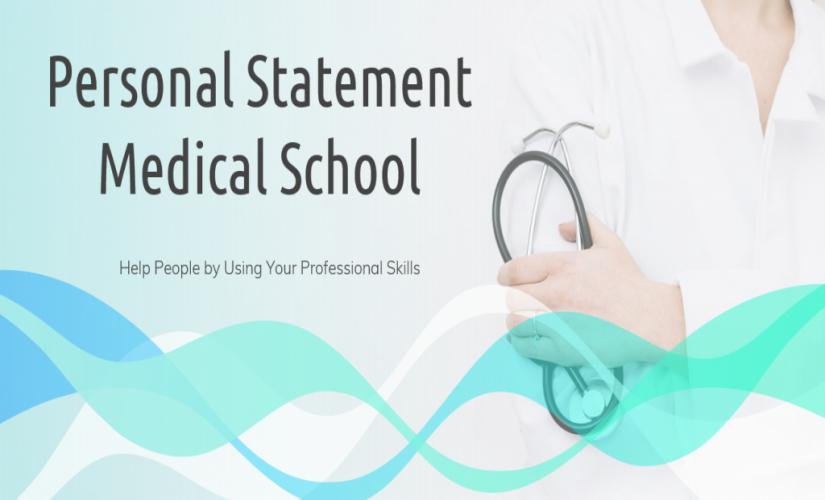 Personal statement medical school