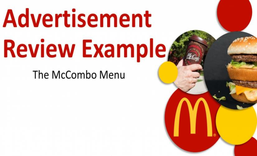 Advertisement review
