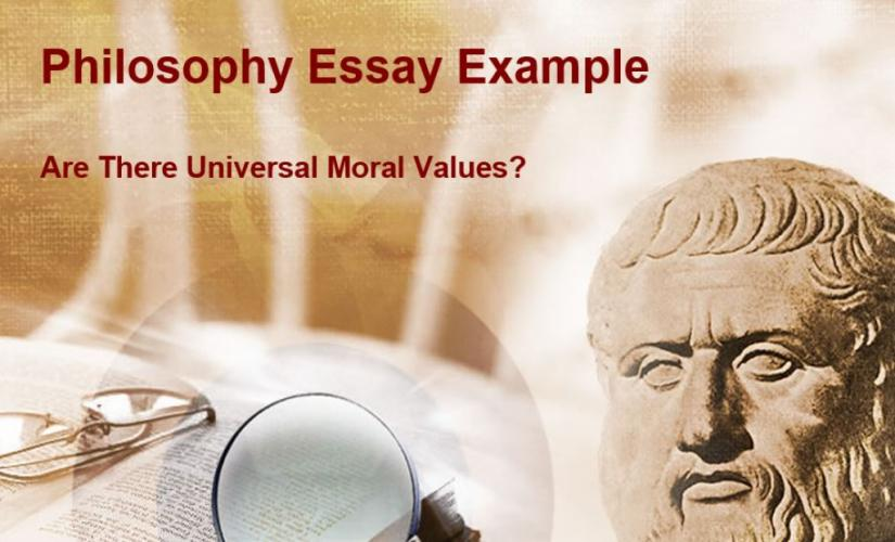 Philosophy essay