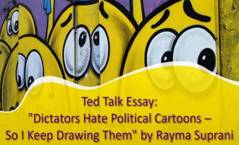 Dictators Hate Political Cartoons - So I Keep Drawing Them by Rayma Suprani