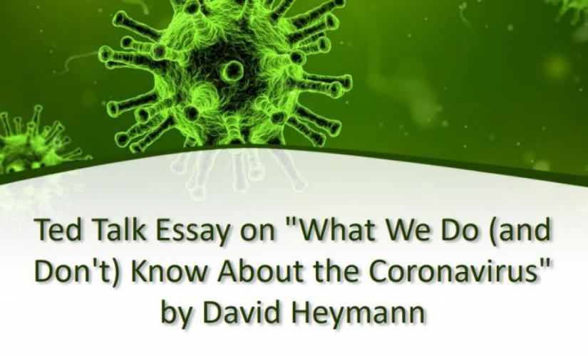 What We Do (and Don't) Know About the Coronavirus by David Heymann