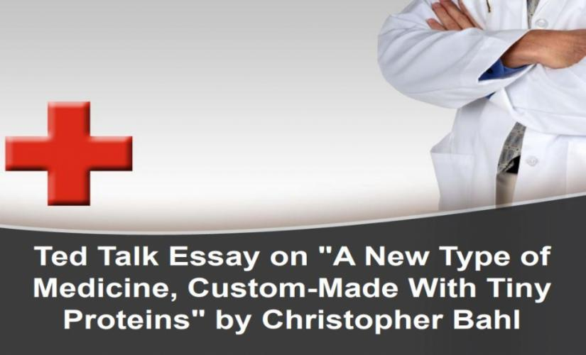 A New Type of Medicine, Custom-Made With Tiny Proteins by Christopher Bahl