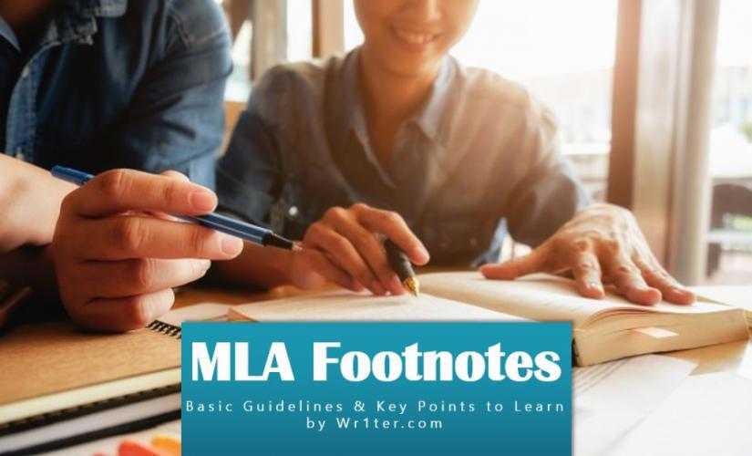 MLA footnotes