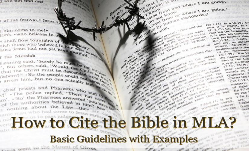 How to Cite the Bible in MLA: Key Rules and Samples
