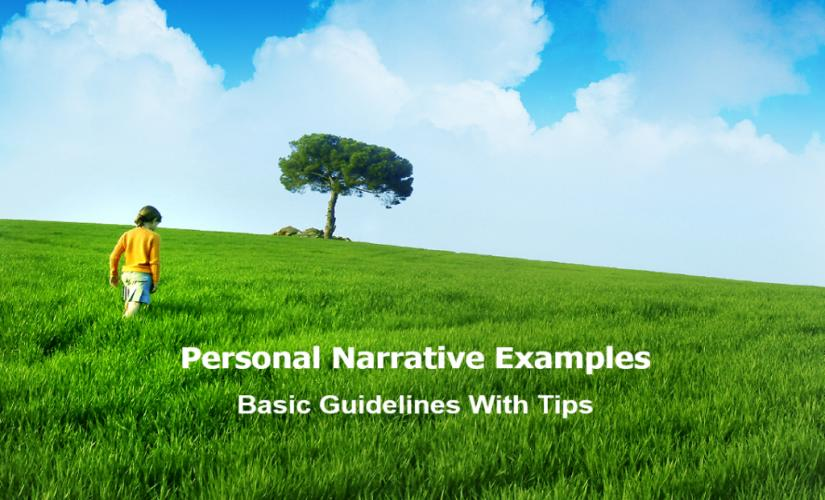 Personal narrative examples
