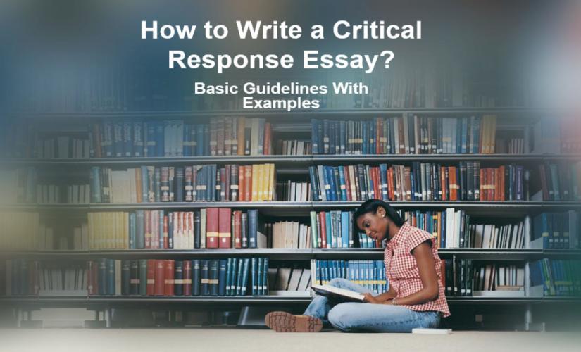 How to write a critical response essay