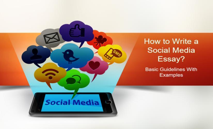 how to write a social media essay